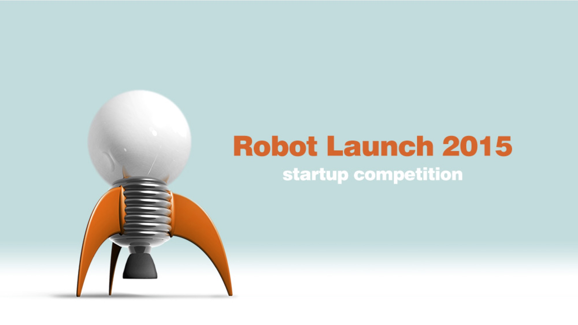 Robot Launch Hero Slide